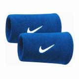 Băng cổ tay thể thao nam thoáng khí thấm mồ hôi (BLUE-dài) mềm mại bảo vệ cổ tay
