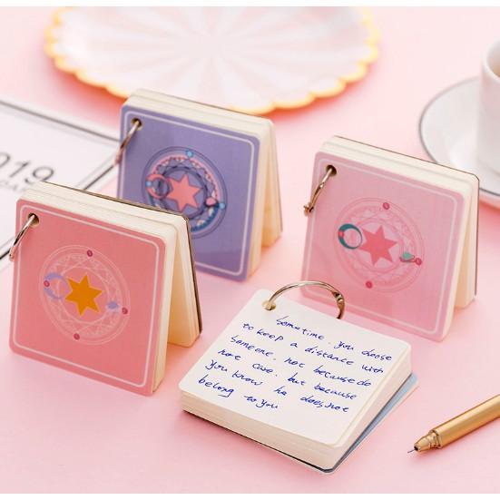 Bộ Flashcard học từ vựng 100 tờ (7*7 cm) – Nhiều mẫu
