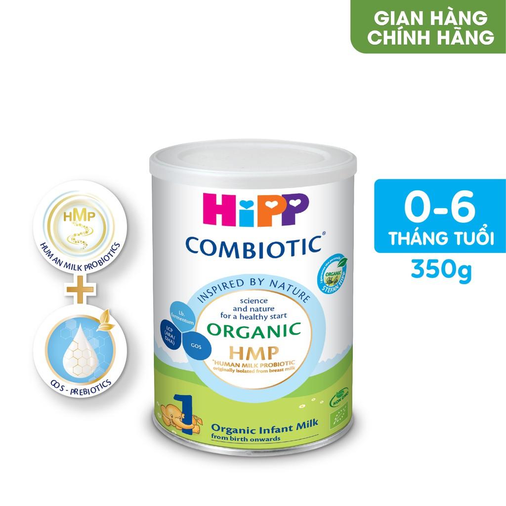 Sữa bột công thức HiPP 1 Organic Combiotic 350g (dành cho trẻ sơ sinh)