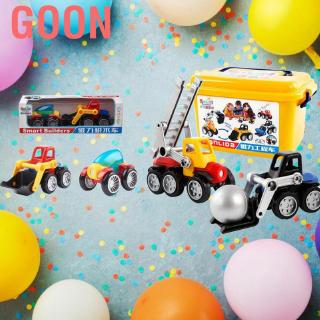 Goon Child Kid's Early Educational Car Toy Cute Cartoon Assembling Recovery Vehicle Toys