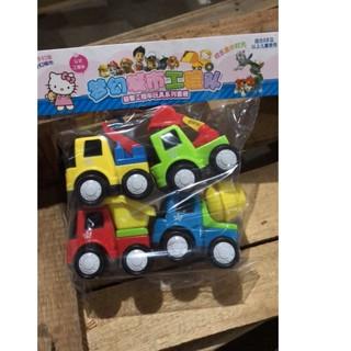 Bộ 4 xe ô tô đồ chơi cho bé 118-27
