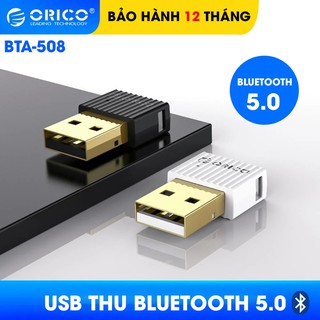 USB Bluetooth 5.0 Orico BTA-508 – Dành cho PC, Laptop – Bảo hành 12 tháng