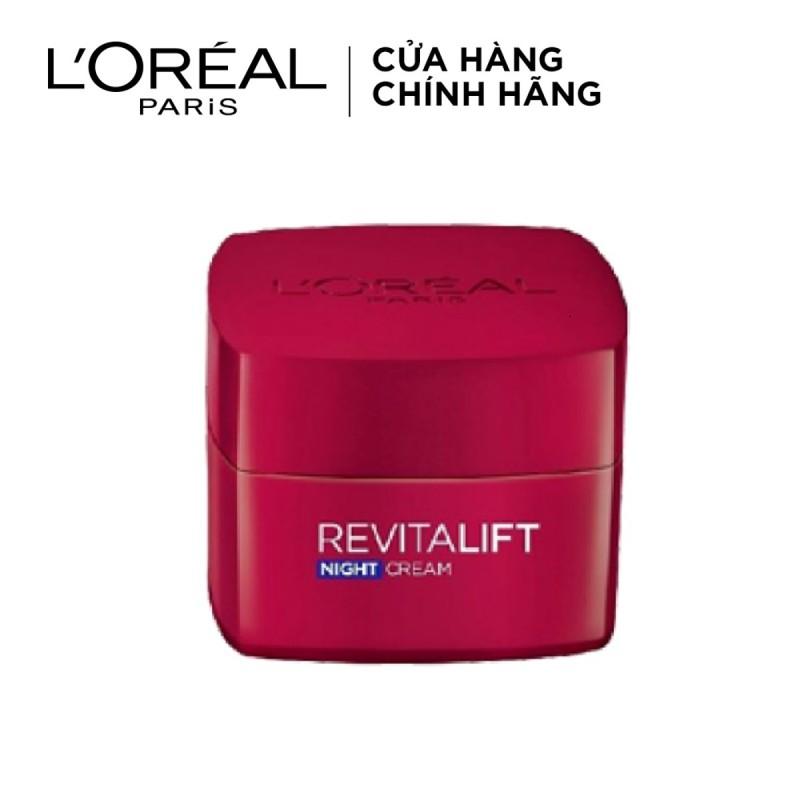 Kem Dưỡng Săn Chắc Da Và Giảm Nếp Nhăn Revitalift - Đêm L'Oréal Revitalift Night Cream (20ml)