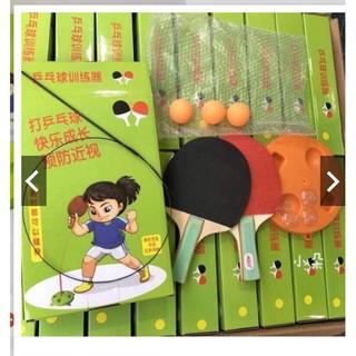 (xả kho) Bộ bóng bàn phản xạ free tab loại 1 cán gỗ