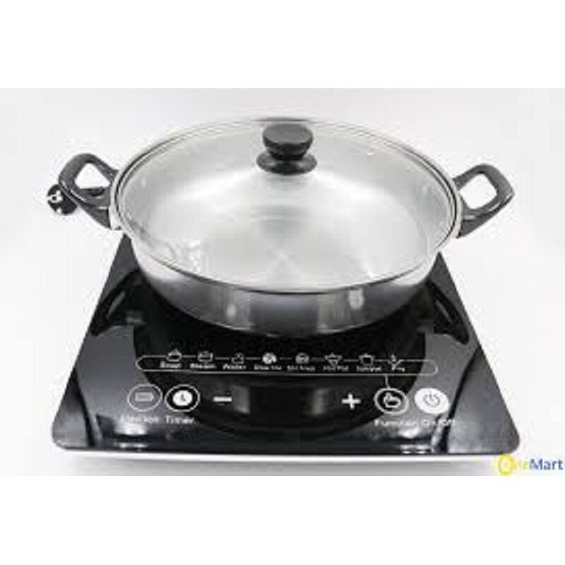 [Mã ELSR11 giảm 6% đơn 400K]Bếp Từ Đơn Cao Cấp HITACHI DH-15T7 - TẶNG NỒI LẨU-BẢO HÀNH 12 THÁNG