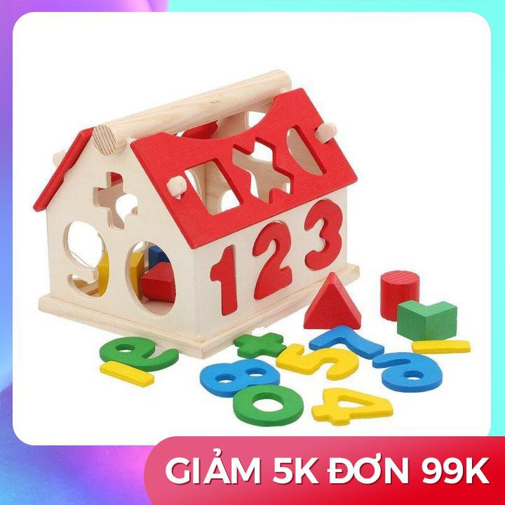 [GIẢM GIÁ] Lắp Ghép Số Bằng Gỗ Hình Ngôi Nhà Size 11Cm - 15448150 , 1975219658 , 322_1975219658 , 79650 , GIAM-GIA-Lap-Ghep-So-Bang-Go-Hinh-Ngoi-Nha-Size-11Cm-322_1975219658 , shopee.vn , [GIẢM GIÁ] Lắp Ghép Số Bằng Gỗ Hình Ngôi Nhà Size 11Cm