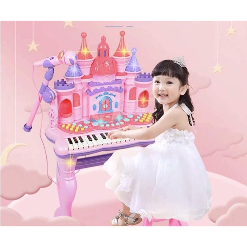 (HÀNG SẴN) ĐÀN PIANO HÌNH LÂU ĐÀI CỠ TO SIÊU XỊN SIÊU ĐẸP