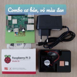 Combo máy tính nhúng Raspberry Pi 3 Model B+ Made in UK