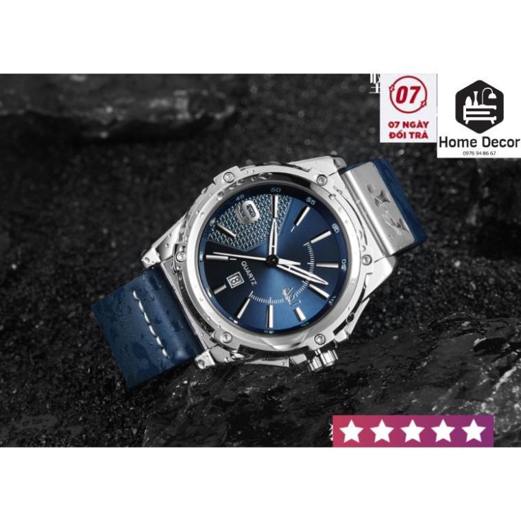 Đồng hồ nam cap cấp janki siêu chống xước và nước bảo hành 1 năm.