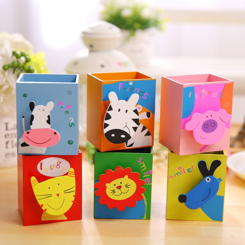 BT005 with note clip Korean creative stationery wooden cute selling on bundle of 4 items