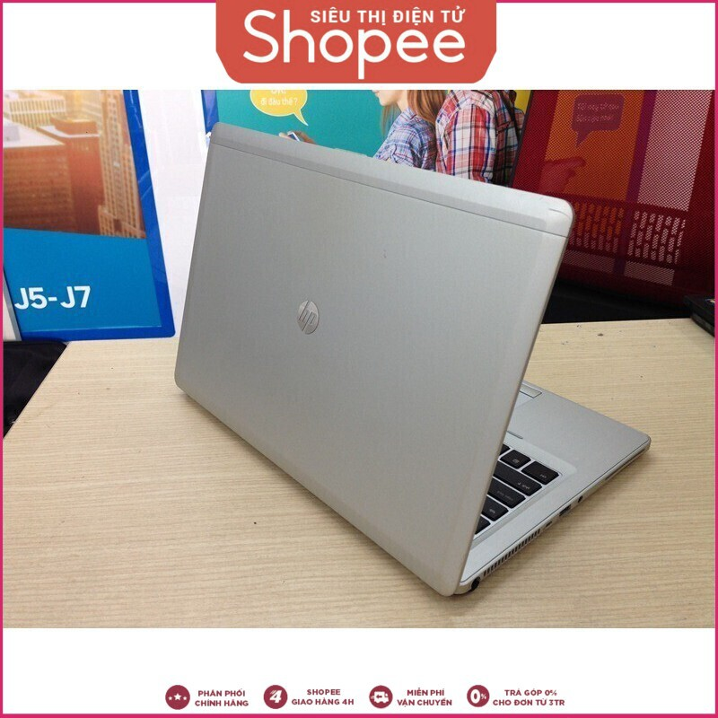 [RẺ VÔ ĐỊCH] Máy tính thương hiệu HP Elitebook Folio 9470M đã qua sử dụng (Bạc) Giá chỉ 7.750.000₫