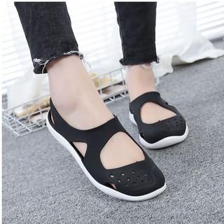 Giày nhựa nữ đi biển đi mưa cao cấp SP53