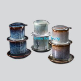 Bộ phin pha cà phê gốm sứ (4 màu) - Phin Pha Cafe Gốm Bát Tràng thumbnail