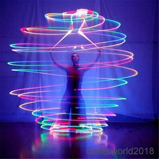 [BEW] Multi-Colored Thrown Balls Glow POI Thrown Balls Multicolored Light Handball Toy [OL]