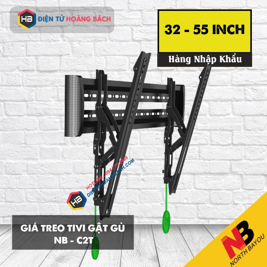 [Hàng Chính Hãng NorthBayou] Giá treo tivi gật gù C2T 32-65 inch