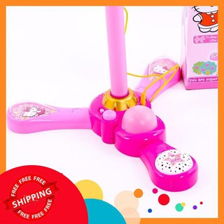 Microphone hát đơn Hello Kitty bé tập làm ca sĩ