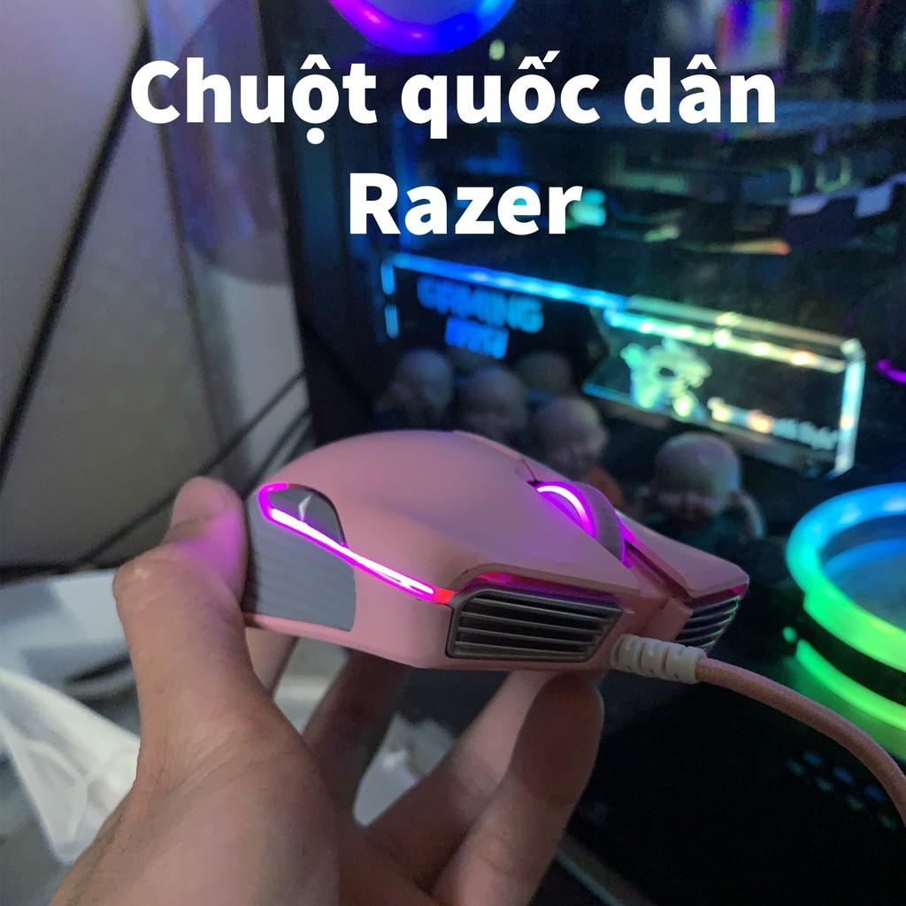 Chuột Game Razer Lancehead TE - Quartz (Màu hồng) chuyên gamer PUBG,LOL, Liên quân.... và cho các streamerr