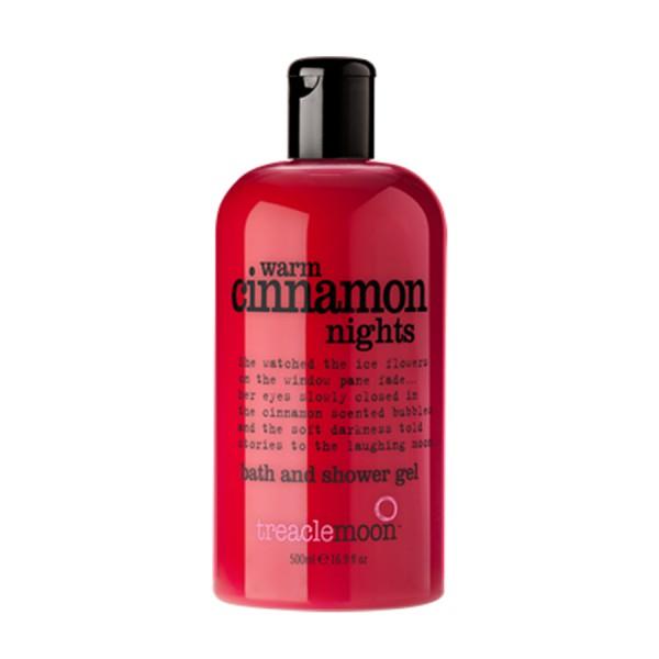 Gel tắm tinh dầu quế Treaclemoon 500ml - Warm Cinnamon Nights bath & shower gel