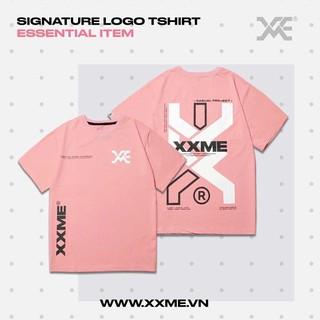 [Mã FASHION15K hoàn 15K xu đơn 99K] Áo thun Signature màu hồng XXME thumbnail