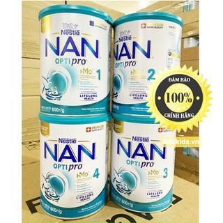 [DATE 2022] Sữa Nan Nga đủ số 1,2,3,4 800g
