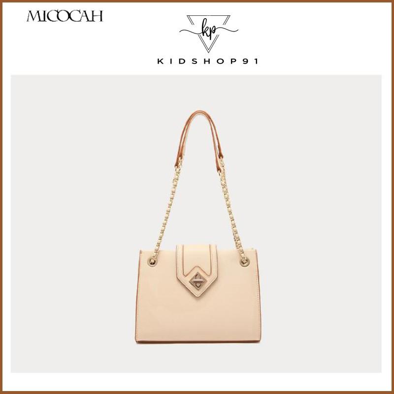 Túi xách nữ đeo chéo Micocah 🎁FREESHIP 50K🎁 Túi xách Micocah chính hãng khoá cách điệu MSD335