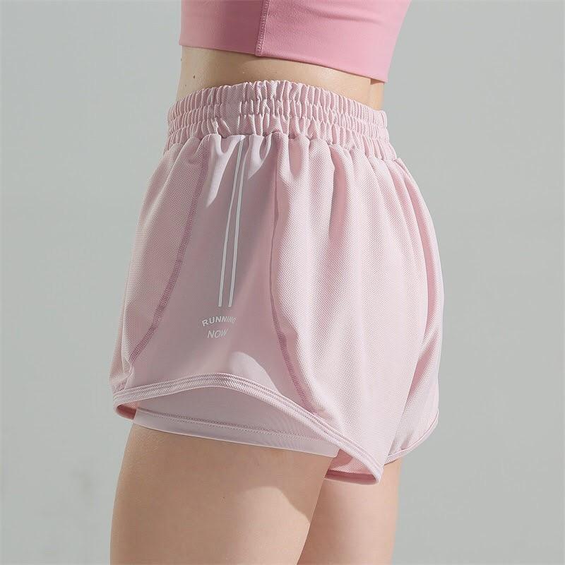 Mặc gì đẹp: Thoáng mát với Quần tập gym , yoga , aerobic nữ siêu đẹp vải si co giãn 2 lớp thời trang nữ Anna