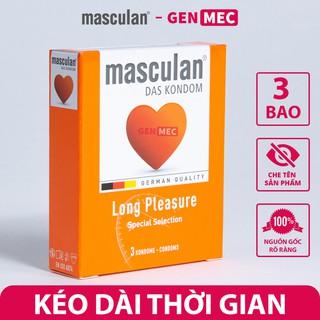 Bao Cao Su Kéo Dài Thời Gian Masculan Long Plesuare - Nhiều Gel Bôi Trơn Siêu Khoái Cảm - BCS Masculan hộp 0 thumbnail
