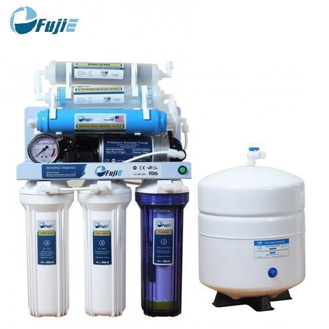 [Mã ELMALLCOIN hoàn 8% xu đơn 500k] Máy lọc nước RO Fujie RO-09 (9 cấp độ lọc)