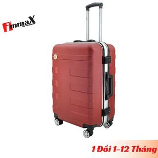 Vali nhựa khung nhôm nắp gập size 24inch ký gửi hành lý immaX A16 bảo hành 2 năm, 1 đổi 1 năm đầu tiên thumbnail