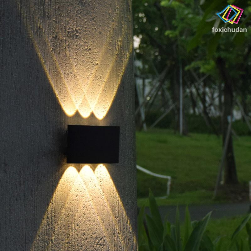 Đèn Led Gắn Tường Chống Thấm Nước Thiết Kế Đơn Giản Tiện Dụng
