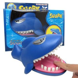 Đồ chơi khám răng cá mập có nhạc đèn (tặng kèm pin)