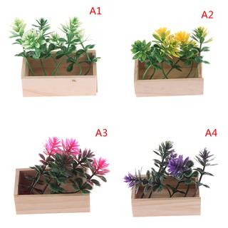 ★ƯU ĐÃI ★1:6 Dollhouse miniature potted plant flowers pot doll house decor