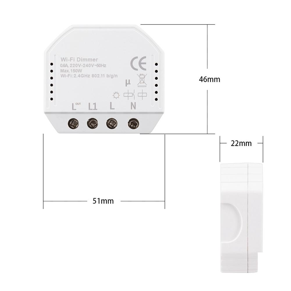 150W 220V-240V Voice Timer Smart LED Light Home Controller
