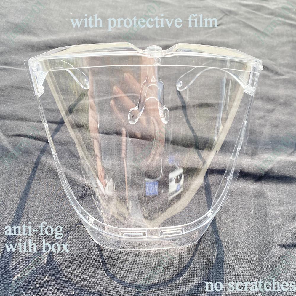 Tấm Chắn Acrylic Trong Suốt Bảo Vệ Mặt Chống Bụi / Tia Uv / Sốc / Giọt Bắn / Bụi Bẩn Tiện Dụng