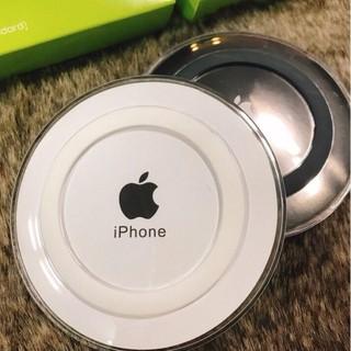 Đế Sạc Không Dây Kèm Cáp Chính Hãng Cho iPhone Và Android