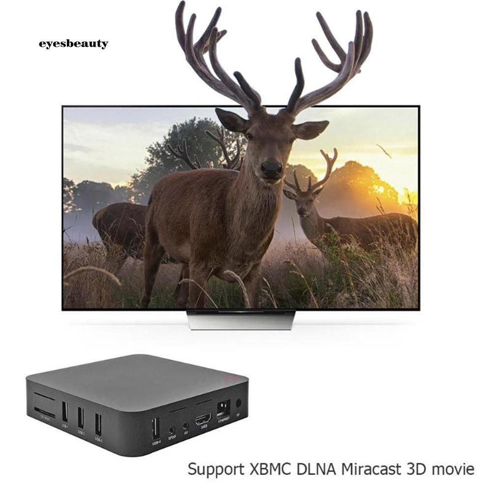EBTY MX9 Quad Core 2+16GB SD Slot HDMI Media Player TV Set-top Box for Android 7.1 Giá chỉ 609.580₫