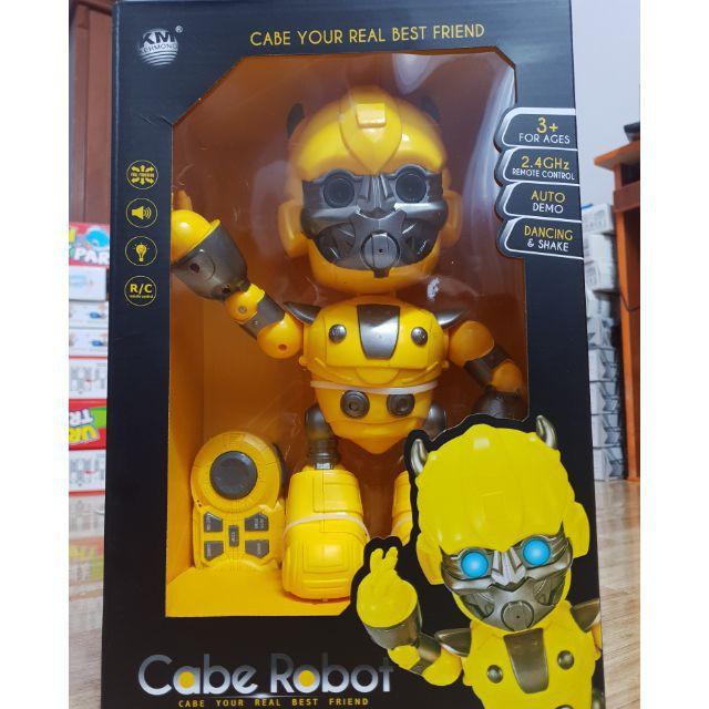 QUÀ TẶNG HOT- Robot LỚN điều khiển từ xa có thể Nhảy – Cabe robot