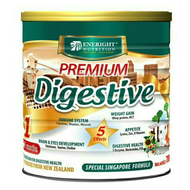 Sữa bột Nutrient Premium Digestive - 700g (dành cho trẻ từ 6 tháng đến 10 tuổi)