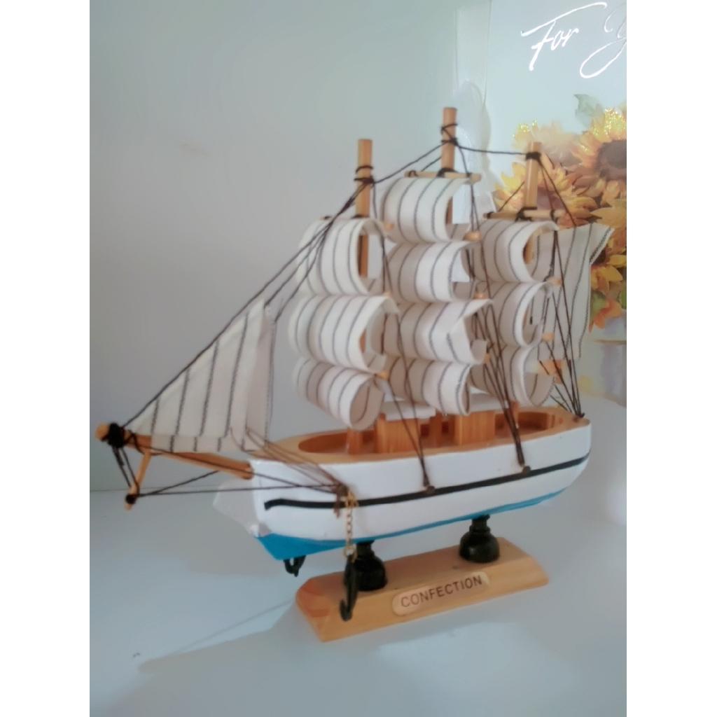 Quà Lưu Niệm - Mô Hình Thuyền Gỗ Hải Quân