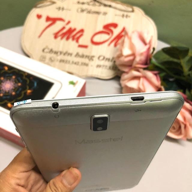 Máy tính bảng Masstel Tab7 7 inch, 2 sim , 3G, Ram 1GB Rom 8GB Chơi liên quân