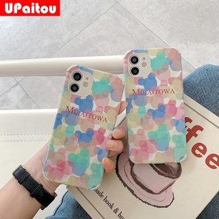 Casing OPPO A53 A93 5G A52 A92 Reno 5 Pro 5G A91 A31 2020 A5 A9 2020 Reno 3 A5s A3s A12e A12 Colorful Mickey Mouse Head Lambskin Phone Case Anti-fall Soft Protective Cover
