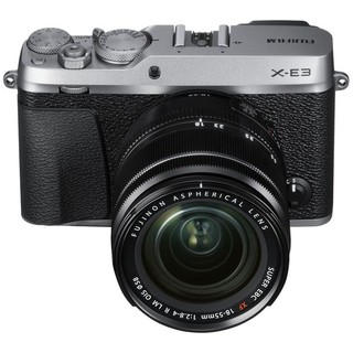 Máy ảnh Fujifilm XE3+ 15-45 silver(tặng kèm thẻ 16gb+túi)