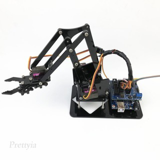 DIY 4-Dof Tank Robot Mechanical Arm for Arduino 51 Learning Kits Science Toy