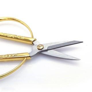 Kéo K45 cán rồng vàng cắt siêu sắc