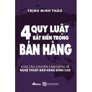 Sách -Bốn quy luật bất biến trong bán hàng