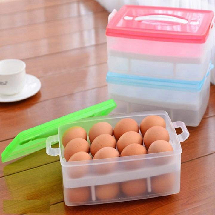 Hộp Đựng Trứng 2 Tầng Tiện Lợi - 3342124 , 1301110425 , 322_1301110425 , 80000 , Hop-Dung-Trung-2-Tang-Tien-Loi-322_1301110425 , shopee.vn , Hộp Đựng Trứng 2 Tầng Tiện Lợi