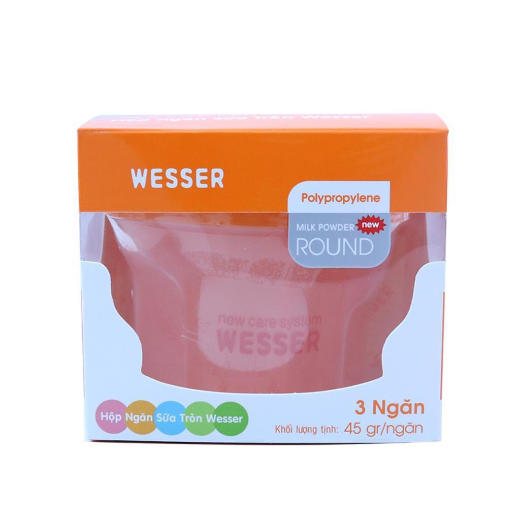 Hộp ngăn sữa tròn Wesser - 3588824 , 1319368945 , 322_1319368945 , 58500 , Hop-ngan-sua-tron-Wesser-322_1319368945 , shopee.vn , Hộp ngăn sữa tròn Wesser