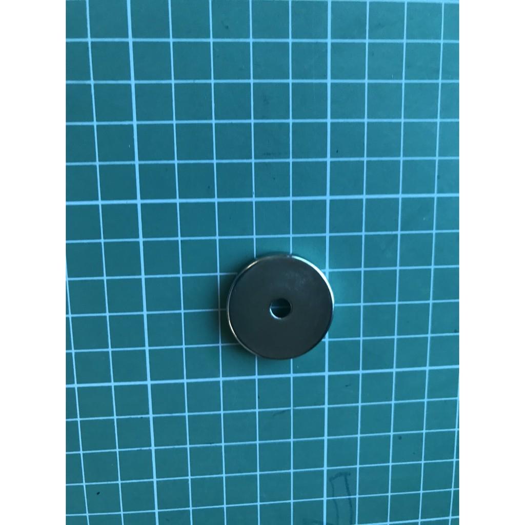 Nam châm hút bi sắt nam châm tròn đường kính 3 cm