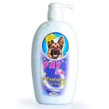 Dầu tắm Fay 5 sao dành cho cún