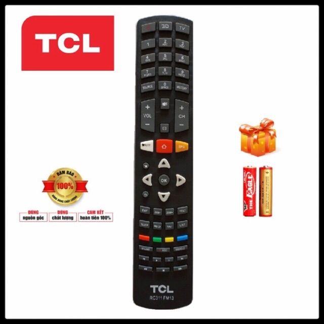 Điều khiển Ti vi TCL _ RC 311 ( Smart TV )